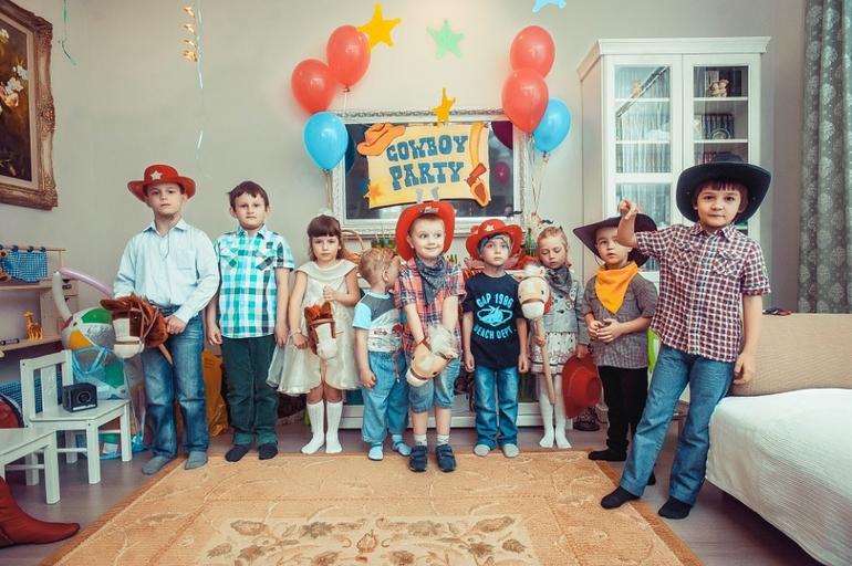 Ковбойская вечеринки для детей от PartyToday.ru