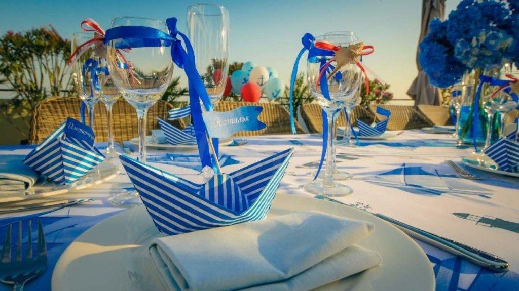 Напитки и закуски для морской вечеринки от PartyToday.ru