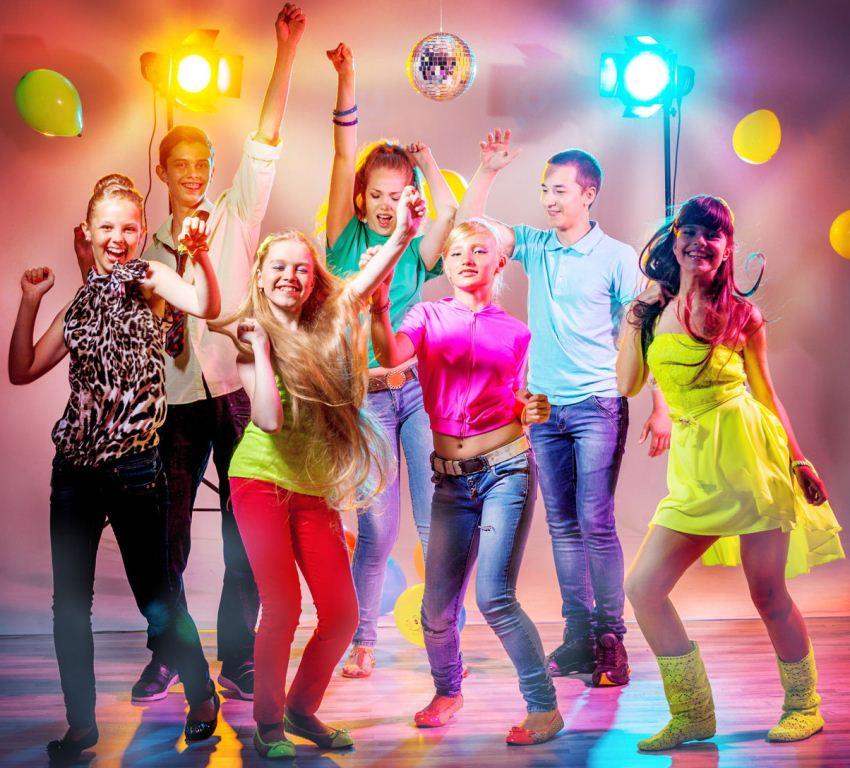 Детская вечеринка в стиле диско от PartyToday.ru