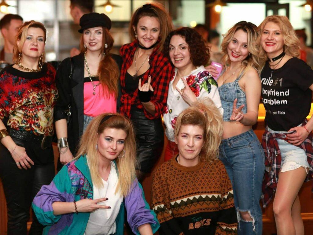 Оформление вечеринки в стиле 80х от PartyToday.ru