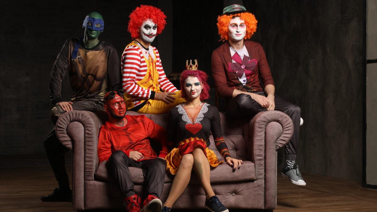 Гости на хэллоуин вечеринку от PartyToday.ru