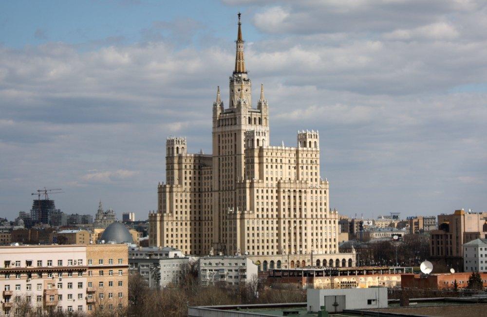 Жилой дом на Кудринской площади. PartyToday.ru