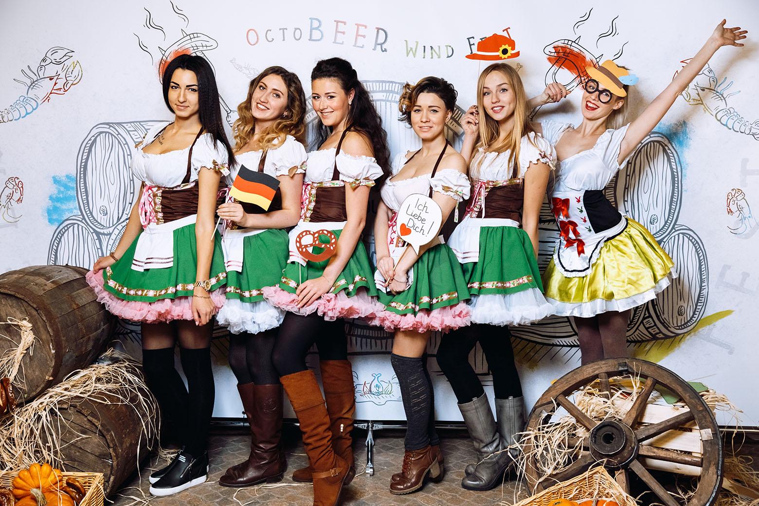Вечеринка к 23 февраля в баварском стиле