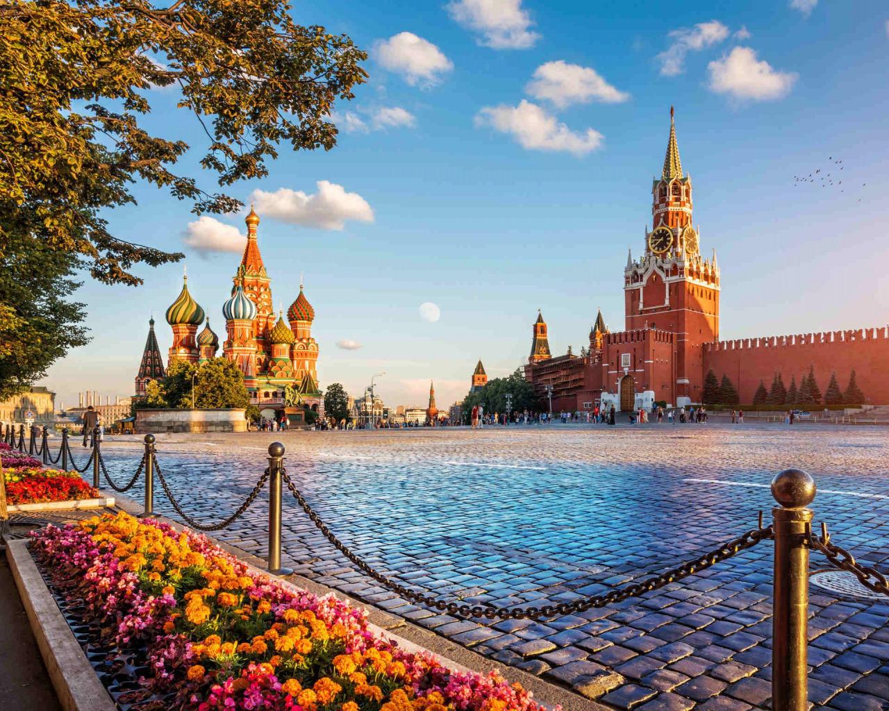 Пешеходные маршруты для прогулки по Москве