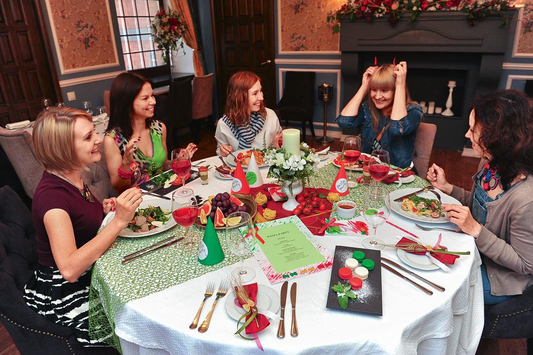 Итальянская вечеринка. Организуем стол