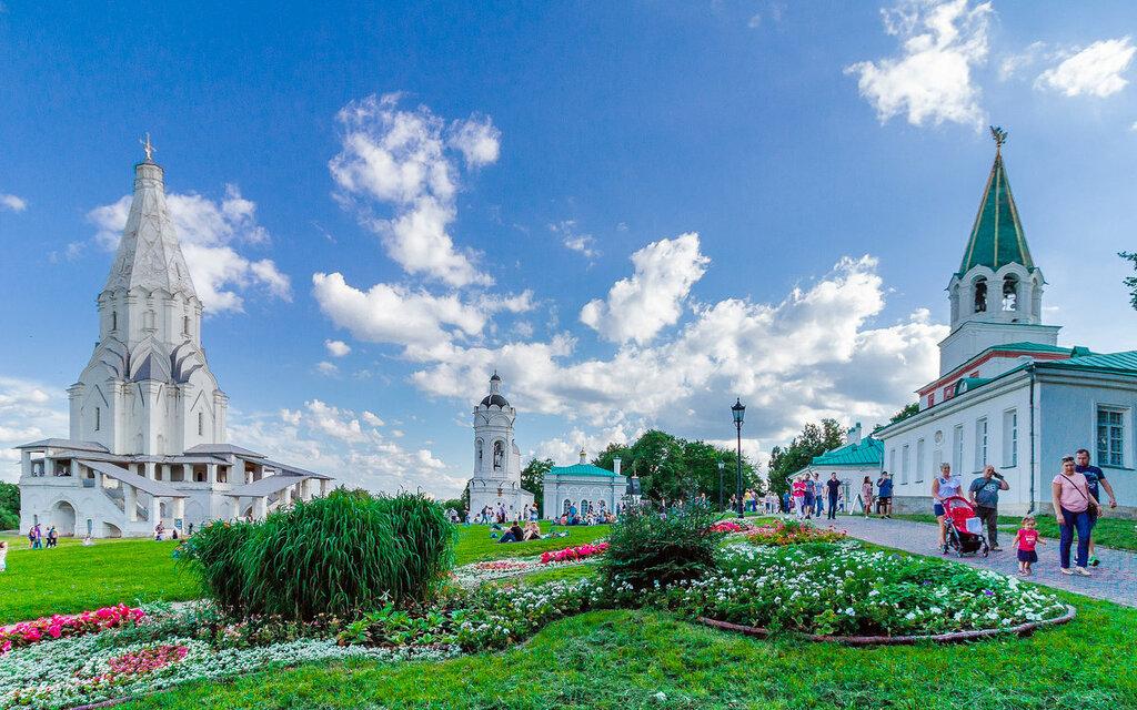 История парка Коломенского парка